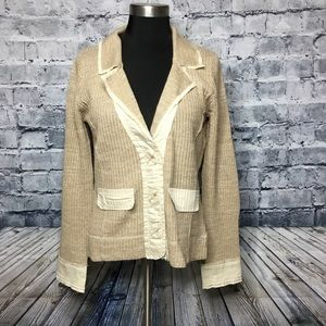 Anthropologie- One Girl Who Cardigan Sweater Small
